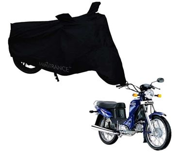 Picture of Black Two Wheeler Cover For Kinetic Luna