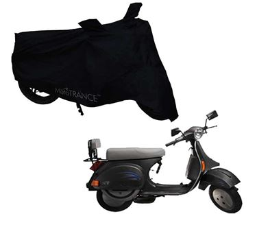 Picture of Black Two Wheeler Cover For LML NV