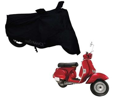 Picture of Black Two Wheeler Cover For LML Star Euro 150