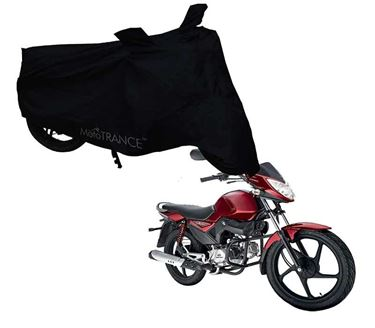 Picture of Black Two Wheeler Cover For Mahindra Stallio