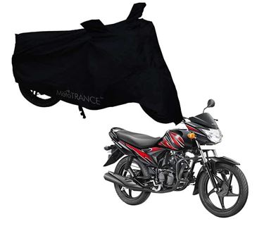 Picture of Black Two Wheeler Cover For Suzuki Hayate