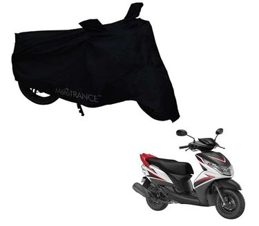 Picture of Black Two Wheeler Cover For Yamaha Ray Z