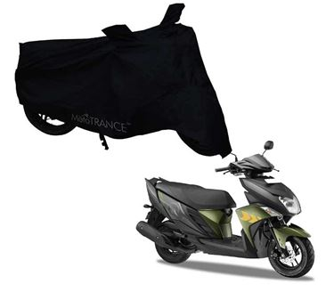 Picture of Black Two Wheeler Cover For Yamaha Ray ZR