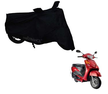 Picture of Black Two Wheeler Cover For Yo EXL