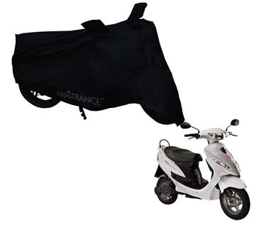 Picture of Black Two Wheeler Cover For Hero Electric E-Sprint