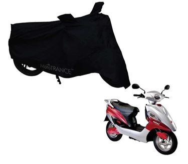 Picture of Black Two Wheeler Cover For Hero Electric Maxi