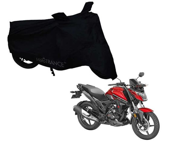 Picture of Black Two Wheeler Cover For Honda X-Blade