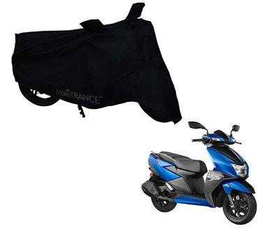 Picture of Black Two Wheeler Cover For TVS Ntorq 125