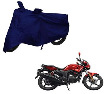 Picture of Blue Two Wheeler Cover For Hero Hunk