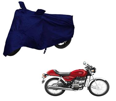 Picture of Blue Two Wheeler Cover For Hero Splendor Pro Classic