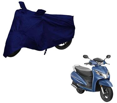 Picture of Blue Two Wheeler Cover For Honda Activa 125