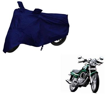 Picture of Blue Two Wheeler Cover For TVS Fiero FX