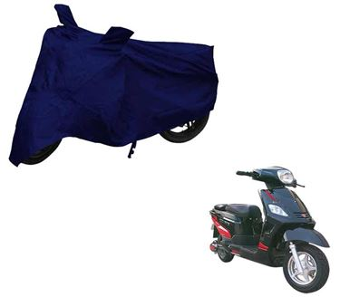 Picture of Blue Two Wheeler Cover For Hero Electric NYX