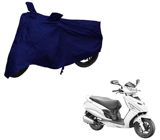 Picture of Blue Two Wheeler Cover For Hero Maestro Edge