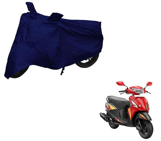 Picture of Blue Two Wheeler Cover For Hero Pleasure