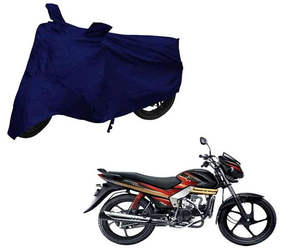 Picture of Blue Two Wheeler Cover For Mahindra Centuro Rockstar