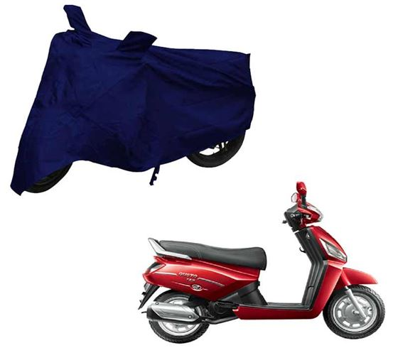 Picture of Blue Two Wheeler Cover For Mahindra Gusto 125