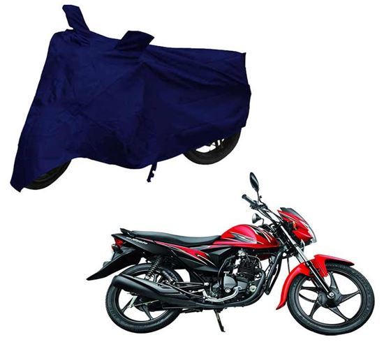 Picture of Blue Two Wheeler Cover For Suzuki Hayate EP