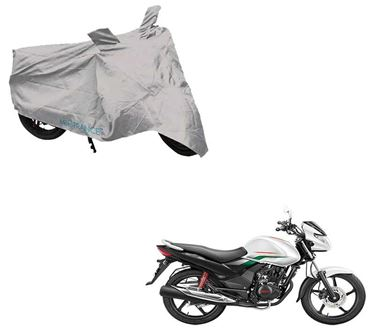 Picture of Silver Two Wheeler Cover For Hero Achiever