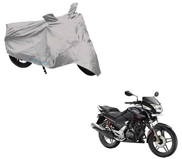 Picture of Silver Two Wheeler Cover For Hero CBZ X-Treme