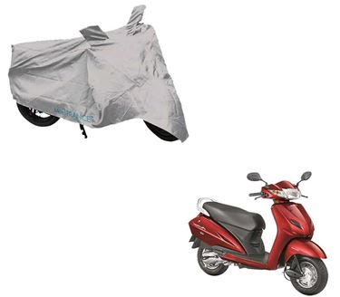 Picture of Silver Two Wheeler Cover For Honda Activa