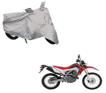 Picture of Silver Two Wheeler Cover For Honda CRF 250 L