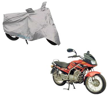 Picture of Silver Two Wheeler Cover For Kinetic GF Lazer