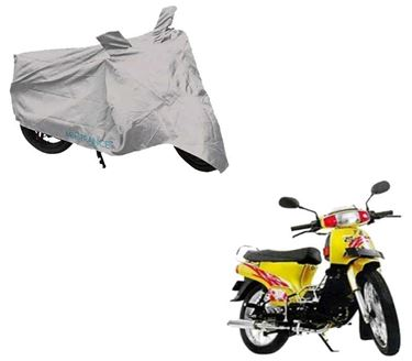 Picture of Silver Two Wheeler Cover For Kinetic K4