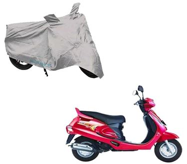 Picture of Silver Two Wheeler Cover For Mahindra Duro