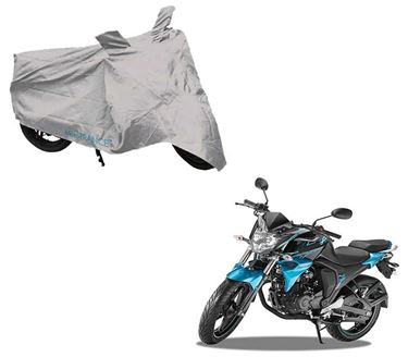 Picture of Silver Two Wheeler Cover For Yamaha FZ S Fi