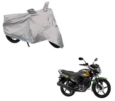 Picture of Silver Two Wheeler Cover For Yamaha Saluto