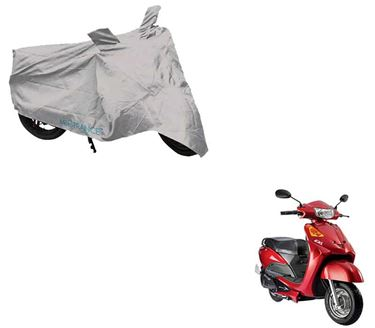 Picture of Silver Two Wheeler Cover For Yo EXL