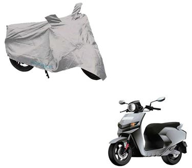 Picture of Silver Two Wheeler Cover For 22Motors Flow