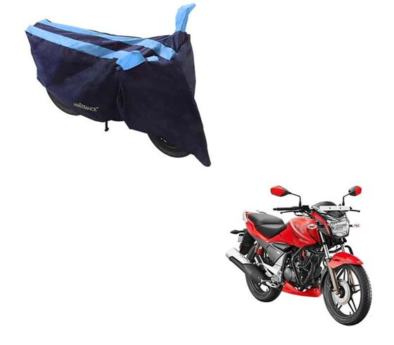 Picture of Sporty Arc Blue Aqua Two Wheeler Cover For Hero Xtreme Sports