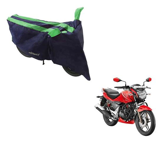 Picture of Sporty Arc Blue Green Two Wheeler Cover For Hero Xtreme Sports