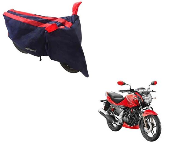 Picture of Sporty Arc Blue Red Two Wheeler Cover For Hero Xtreme Sports