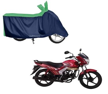 Picture of Sporty Green Blue Two Wheeler Cover For Mahindra Centuro NXT