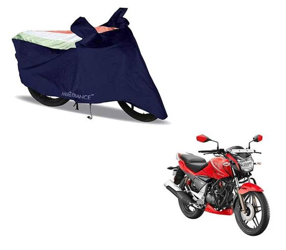 Picture of Sporty Arc Blue Freedom Tri Two Wheeler Cover For Hero Xtreme Sports