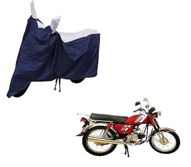 Picture of Sporty Blue Two Wheeler Cover For Hero CD 100 SS