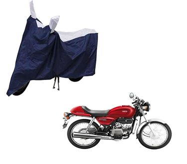 Picture of Sporty Blue Two Wheeler Cover For Hero Splendor Pro Classic