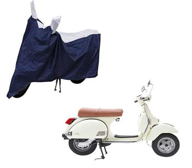 Picture of Sporty Blue Two Wheeler Cover For LML Star Euro 200