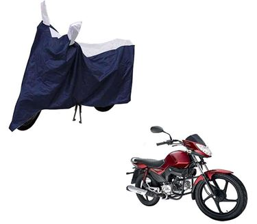 Picture of Sporty Blue Two Wheeler Cover For Mahindra Stallio