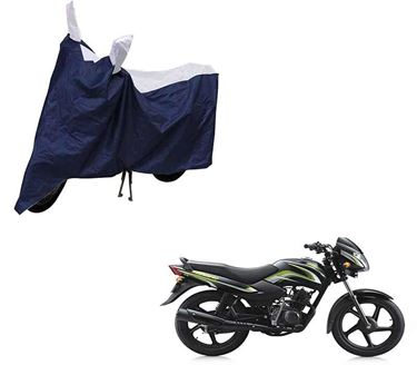Picture of Sporty Blue Two Wheeler Cover For TVS Star Sport
