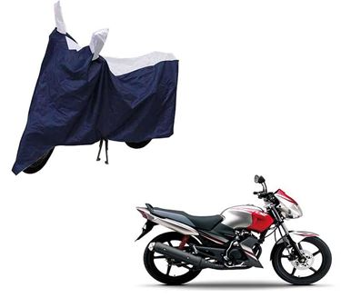 Picture of Sporty Blue Two Wheeler Cover For Yamaha Gladiator SS