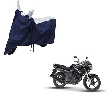 Picture of Sporty Blue Two Wheeler Cover For Yamaha SZ-X