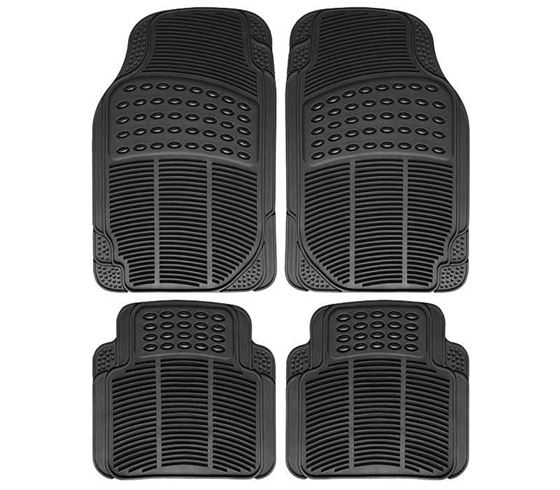 Picture of Universal Car Foot Mats (Black) Set of 4