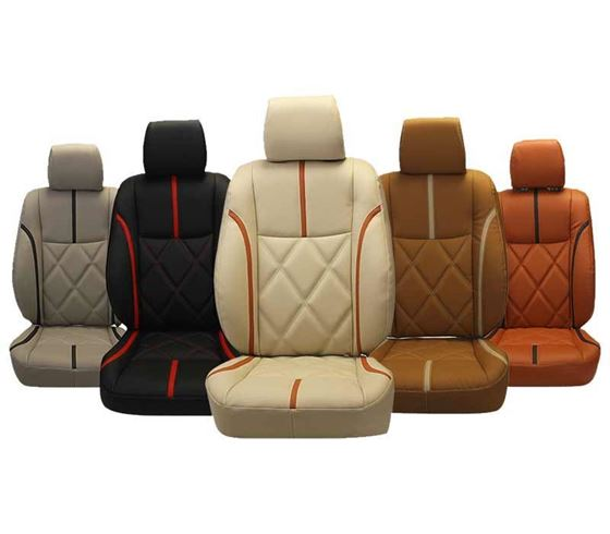Picture of (HT-504 Tigno) Renault Triber 2019 3D Custom PU Leather Car Seat Covers