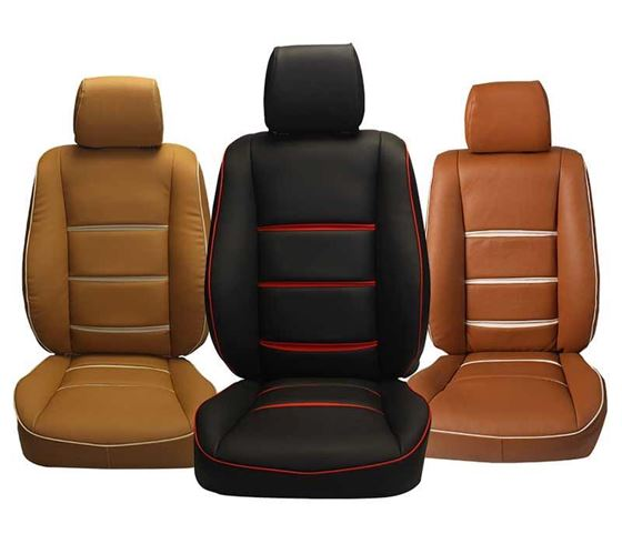 Picture of (HT-505 Mojo) Mahindra XUV300 2019 3D Custom PU Leather Car Seat Covers