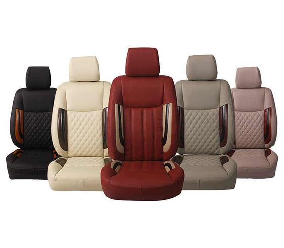Picture of (HT-506 Crystal) Renault Triber 2019 3D Custom PU Leather Car Seat Covers