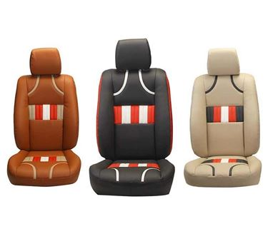 Picture of Custom-fit Leatherette 3D Car Seat Covers for Toyota Corolla Old - (PL-205 Bronco)